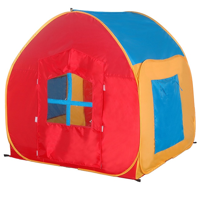 My First Play House Pop-up Tent  sc 1 st  Overstock : play tents for boys - memphite.com
