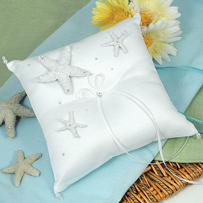 Beach Ring Pillow