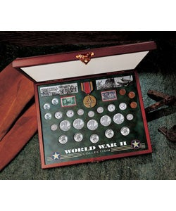 American Coin Treasures Comprehensive World War II Coin and Stamp Collection