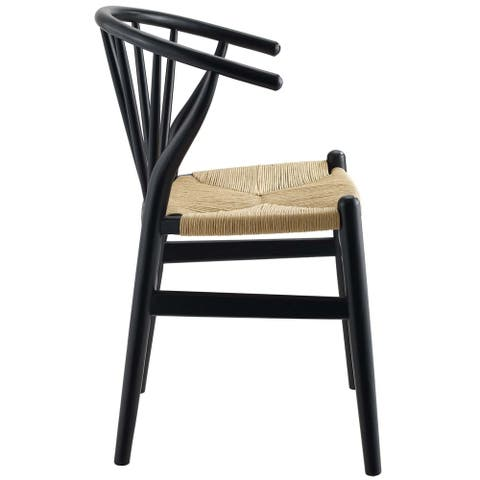 The Curated Nomad Loomis Spindle Wood Dining Chair