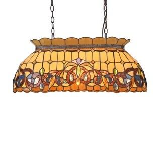 Link to Tiffany 3-light Dark Bronze Island Pendant Similar Items in Pool Table Lights