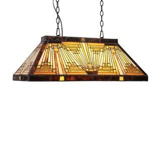 Link to Tiffany 3-light Blackish Bronze Island Pendant Similar Items in Pool Table Lights