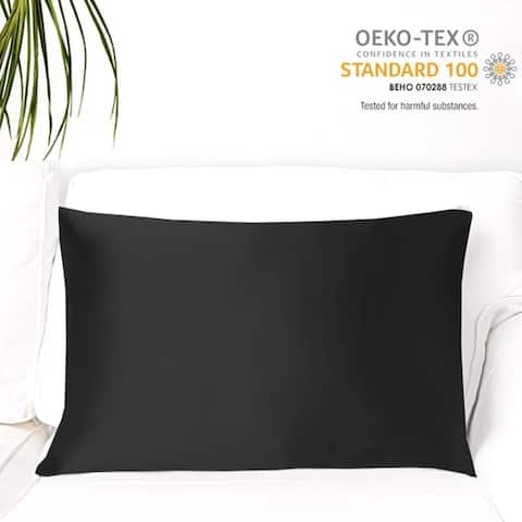 MYK Pure Mulberry Silk Pillowcase, 19 Momme Both Sides Silk OEKO-TEX
