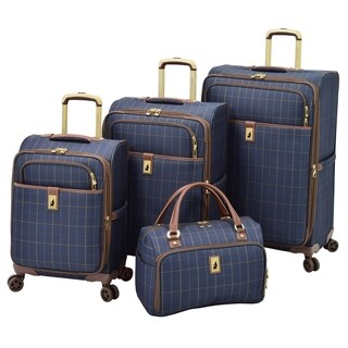 London Fog Kensington II 4 Piece Spinner Luggage Set