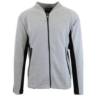 Galaxy By Harvic Men's Moisture Wicking Active Tech Fleece Sweater Jacket