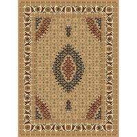 "Traditional Rugs 5x8 Beige - 5'4"" x 7'5"""