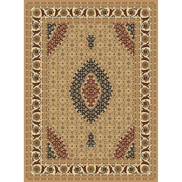 """Traditional Rugs 5x8 Beige - 5'4"""" x 7'5"""""""