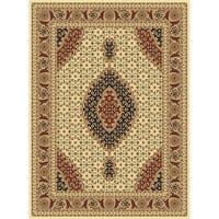 "Traditional Rugs 5x8 Ivory - 5'4"" x 7'5"""