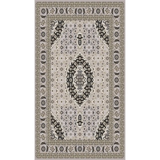"""Traditional Rugs 5x8 Gray - 5'4"""" x 7'5"""""""
