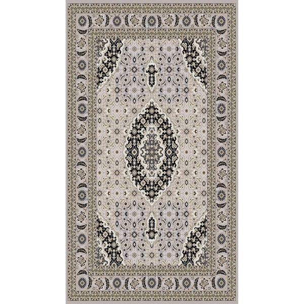 "Traditional Rugs 5x8 Gray - 5'4"" x 7'5"""