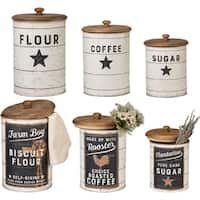 Tin Canisters - Farmhouse
