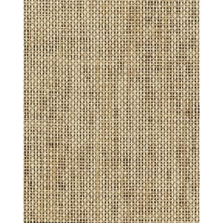 Niceville Woven Crosshatch Ramie Wallpaper  36 In. x 24 Ft. = 72 Sq. Ft. In Beige