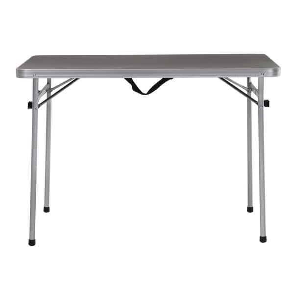 Cool Shop Cosco 4Ft Grey Aluminum Camping Table And Bench Set Ibusinesslaw Wood Chair Design Ideas Ibusinesslaworg