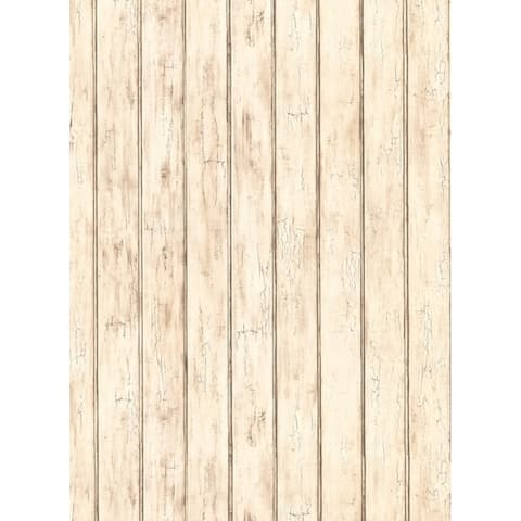 Bead Board Wallpaper 20.5 in. x 33 ft. 56sq.ft