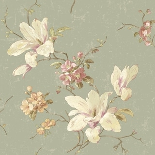 Magnolia Wallpaper 20.5 In. x 33 Ft. = 56 Sq.Ft