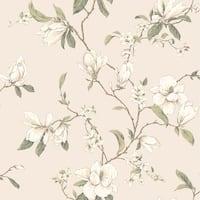 Sebastian Magnolia Branch Wallpaper 20.5 In. x 33 Ft. = 56 Sq.Ft