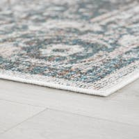 Alise Rugs Montez Traditional Medallion Area Rug