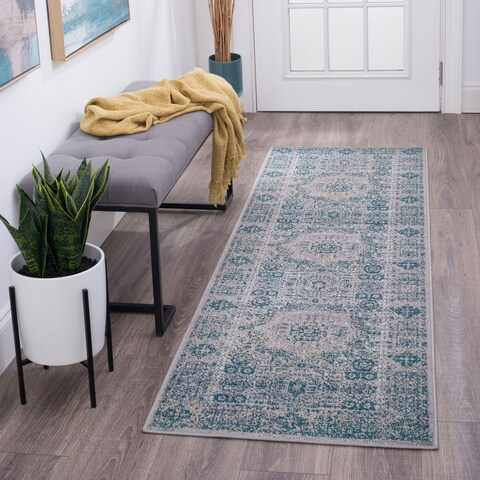 Alise Rugs Montez Transitional Oriental Area Rug