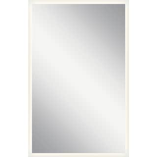 elan LED Backlit Mirror - White - A/N