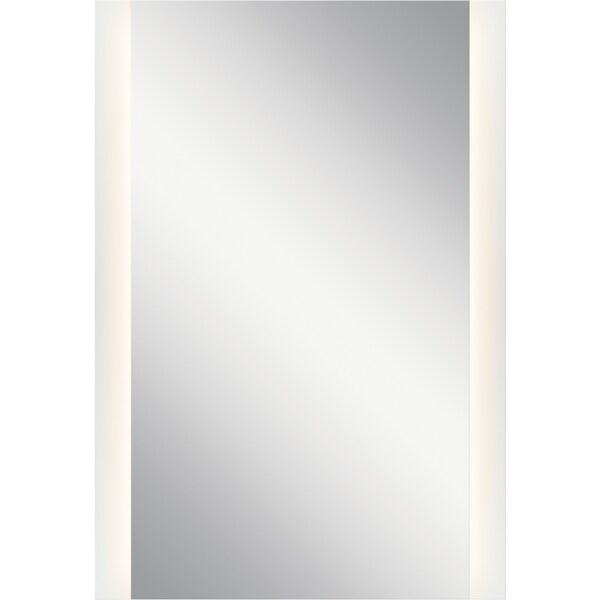 elan LED Backlit Mirror - White - A/N