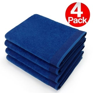 Kaufman - 30 X 60 VELOUR BEACH AND POOL TOWEL 4 PACK