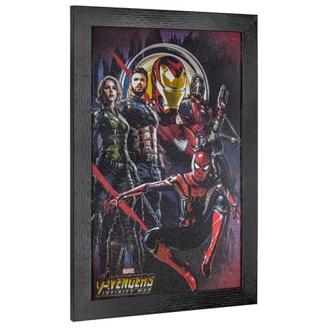 American Art Decor Licensed Marvel Comics Avengers Infinity War Art - Multi-color