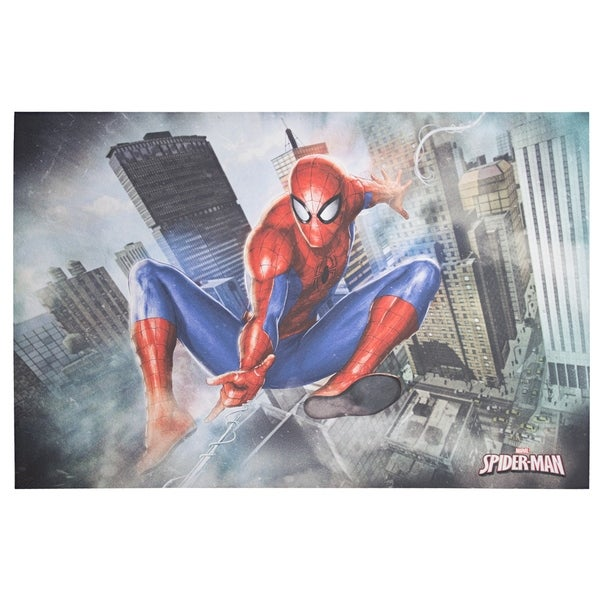 American Art Decor Licensed Marvel Comics Spider-Man Canvas Wall Art - multi-color. Opens flyout.