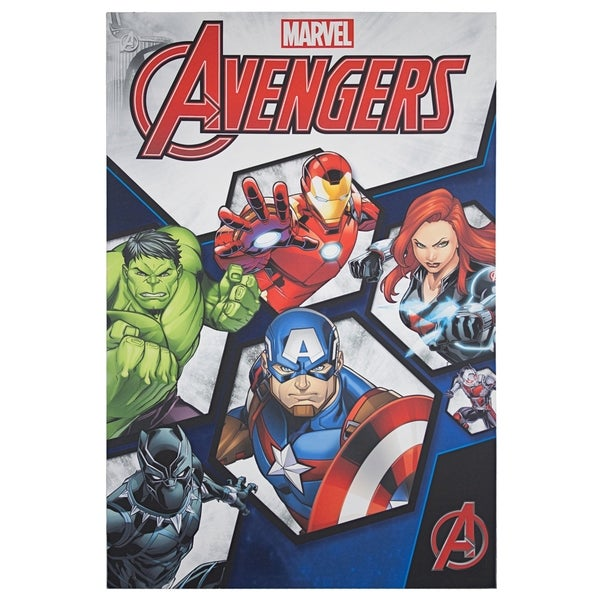 American Art Decor Licensed Marvel Comics Avengers Canvas Wall Art - multi-color