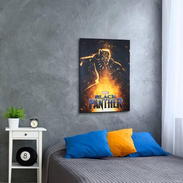 Shop American Art Decor Licensed Marvel Comics Black Panther ...