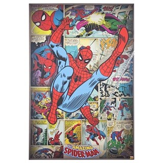 American Art Decor Licensed Marvel Amazing Spider-Man Canvas Art - multi-color