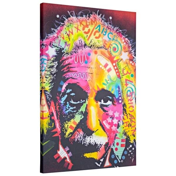 Shop American Art Decor Albert Einstein Pop Art Wrapped Canvas Wall