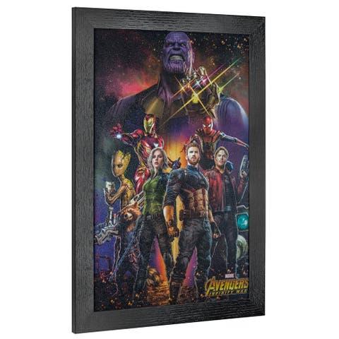 American Art Decor Marvel Comics Avengers Infinity War Thanos Art - Multi-color