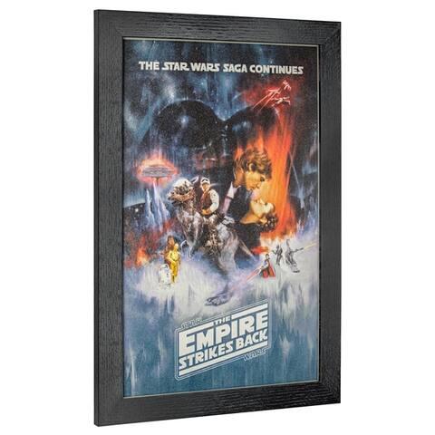 American Art Decor Licensed Star Wars Episode V Framed Wall Art - Multi-color