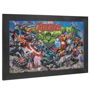 Link to American Art Decor Licensed Marvel Comics Avengers Comic Book Decor - Multi-color Similar Items in Art Prints