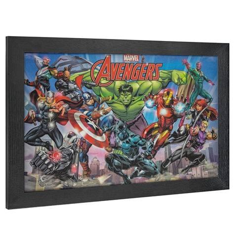 American Art Decor Licensed Marvel Comics Avengers Comic Book Decor - Multi-color