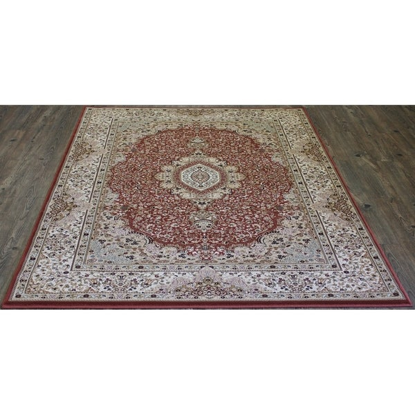 "5x8 Traditional Rug Rose - 5'4"" x 7'5"""