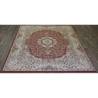 """5x8 Traditional Rug Rose - 5'4"""" x 7'5"""""""