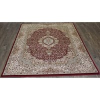 "5x8 Traditional Rug Red - 5'4"" x 7'5"""