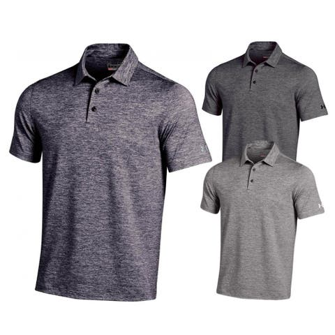 Under Armour Elevated Heather Golf Polo