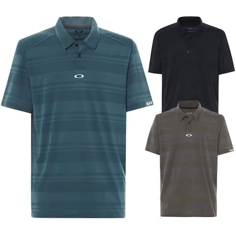 Oakley Aero Stripe Jacquard Golf Polo