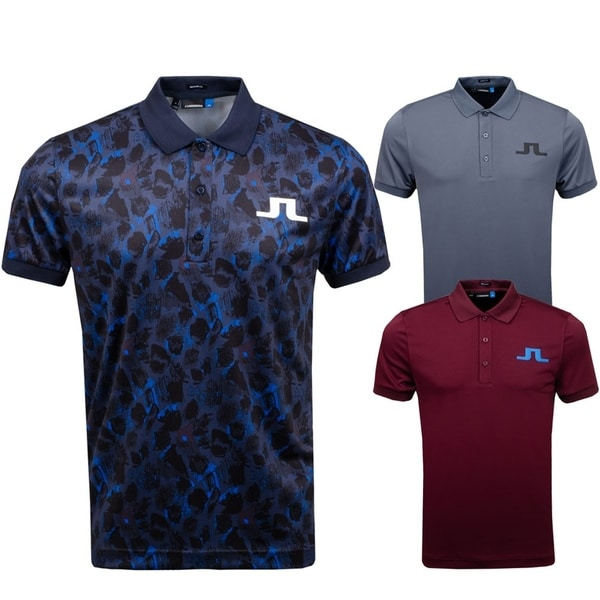 J.Lindeberg Mens Big Bridge Jersey Polo Shirt