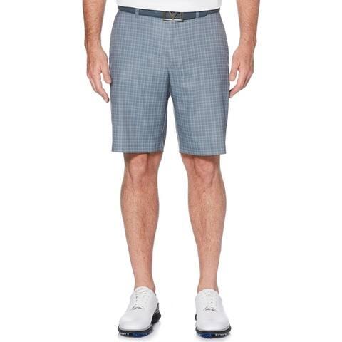 Callaway Printed Suiting Plaid Golf Shorts