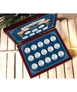 American Coin Treasures American Eagle 1986-2007 Silver Dollar Collection - Thumbnail 0