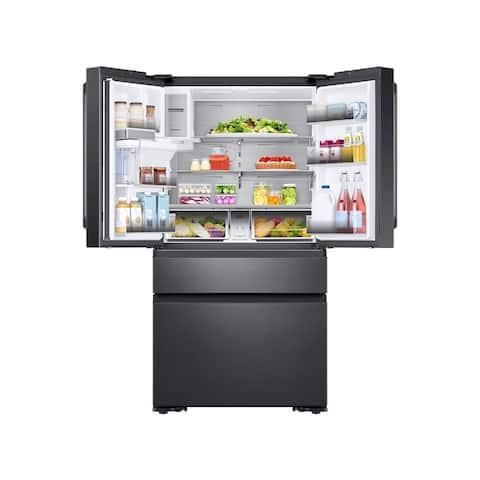 22 cu. ft. Capacity Counter Depth 4-Door French Door Refrigerator with Family Hub(2017)