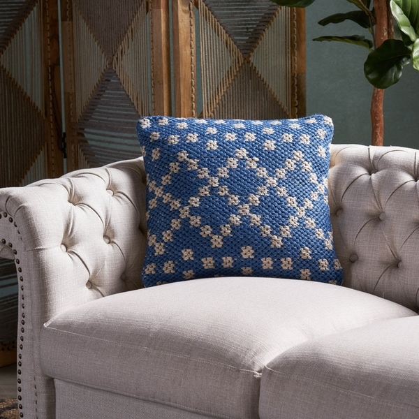 """Blessberg Indoor Boho Water Resistant 18"""" Throw Pillow by Christopher Knight Home"""