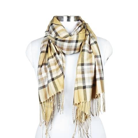 Women Plaid Winter Fashion Scarfs Neck Blanket Warm Scarves Shawl Wrap