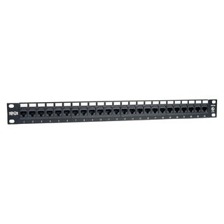 Tripp Lite 24-Port Cat6 Cat5 Patch Panel Rackmount 110 Punch Down RJ4