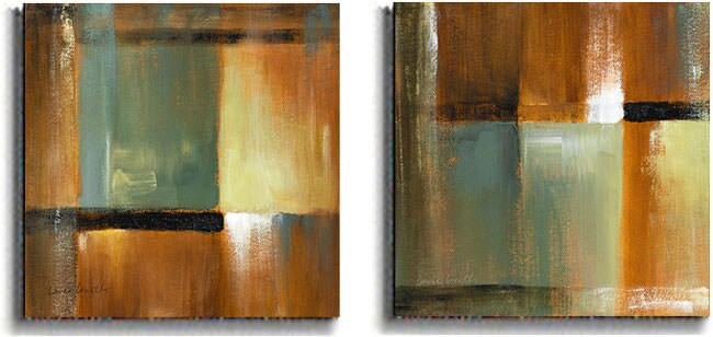 Loreth Sonoran Shadows Stretched Canvas Set (2-piece) - Thumbnail 0