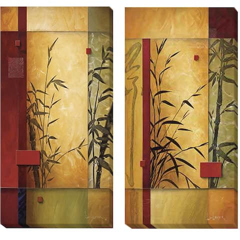 Don Li-Leger Garden Dance Canvas 2-piece Set - Multi