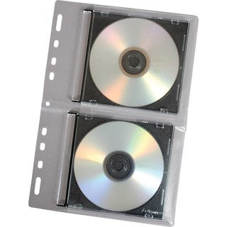 Fellowes CD Binder Sheet - 10 pack